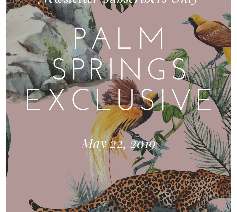 Protected: Palm Springs Exclusive Content