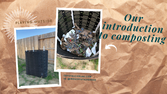 Our introduction to composting.